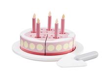 KIDS CONCEPT - Torta drevená Pink Bistro