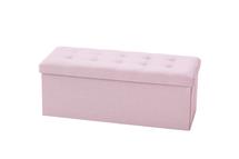 KIDS CONCEPT - Úložná lavica Pink