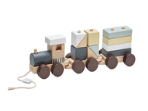 KIDS CONCEPT - Vlak z kociek Neo drevený