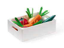 KIDS CONCEPT - Zelenina v debničke drevená Bistro