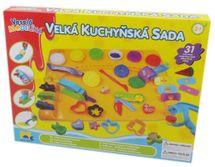 KIDS TOYS - Plastelína Kuchynská Súprava S Podložkou Veľká