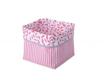 KIKADU - Textilná krabica ružová
