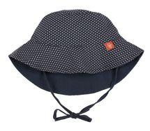 LÄSSIG - Klobúčik Sun Protection Bucket Hat - polka dots navy 18-36 mesiacov