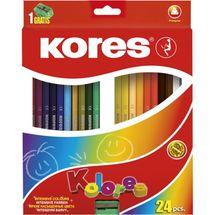 KORES - Pastelky Kolores Trio Duo 48 farieb
