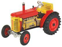 KOVAP - Traktor Zetor červený - plastové disky
