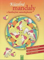 Kúzelné mandaly s farebnými samolepkami (žltá)