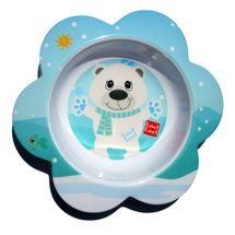 LABEL LABEL - Friend Miska s kvetinovým tvarom - ľadový medveď