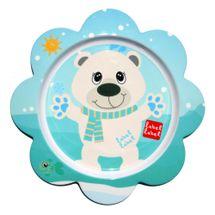 LABEL LABEL - Friend Tanier s kvetinovým tvarom - ľadový medveď