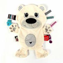 LABEL-LABEL - Ľadový medveď, biela