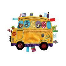 LABEL-LABEL - Školský autobus, žltý