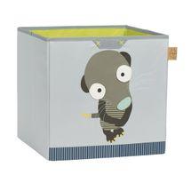 LÄSSIG - Box na hračky Toy Cube Storage Wildlife Meerkat