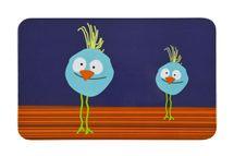 LÄSSIG - Detské prestieranie Breakfast Boards Wildlife, birdie