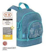 LÄSSIG - Detský batoh Mini Backpack About Friends mélange blue