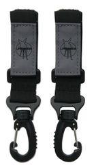 LÄSSIG - Háčiky Casual Stroller Hooks, black