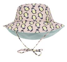 LÄSSIG - klobúčik Sun Bucket Hat penguin peach 06-18 mo.