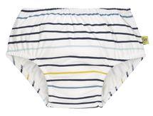 LÄSSIG - plavky Swim Diaper Boys little sailor navy 18 mo.