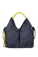 LÄSSIG - Taška na rukoväť Green Label Neckline Bag, denim blue