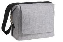 LÄSSIG - Taška na rukoväť Green Label Small Messenger Bag Update, black mélange