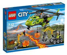LEGO - City 60123 Sopka Zásobovacia helikoptéra