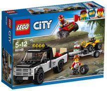 LEGO - City 60148 Pretekársky tím štvorkoliek