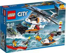 LEGO - City 60166 Výkonná záchranárska helikoptéra