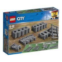 LEGO - City 60205 Koľajnice