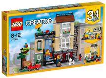 LEGO - Creator 31065 Mestský dom so záhradkou
