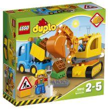 LEGO - DUPLO 10812 Pásový bager a nákladiak