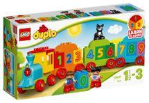 LEGO - DUPLO 10847 Vláčik s číslam