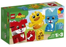 LEGO - DUPLO 10858 Moji prví skladací maznáčikovia