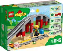LEGO - DUPLO® 10872 Vlakový most a koľajnice