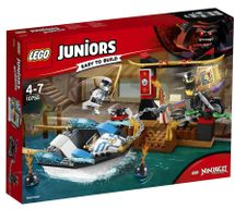 LEGO - Juniors 10755 Prenasledovanie v Zaneovom nindža člne