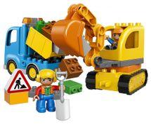 LEGO - Pásový bager a nákladiak