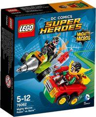 LEGO - Super Heroes 76062 Mighty Micros: Robin verzus Bane