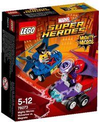 LEGO - Super Heroes 76073 Mighty Micros: Wolverine vs. Magneto