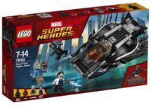 LEGO - Super Heroes 76100 Útok stíhačky Čierneho pantera