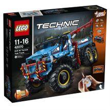LEGO - Technic 42070 Terénne odťahové vozidlo 6x6