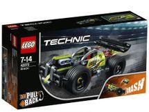 LEGO - Technic 42072 Zelené pretekárske auto
