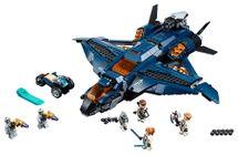 LEGO - úžasný tryskáč Avengerov