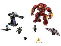 LEGO - Zrážka s Hulkbusterom