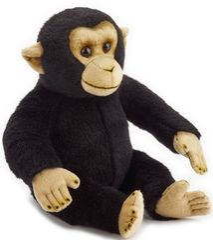 LELLY - National Geografic Základná kolekcia zvieratiek 770836 Šimpanz - 31 cm