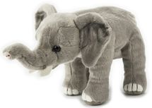 LELLY - National Geografic Základná kolekcia zvieratiek 770839 Slon Africký - 23 cm