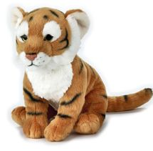 LELLY - National Geografic Základná kolekcia zvieratiek 770848 Tiger - 24 cm