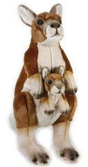 LELLY - National Geografic Zvieratká z Austrálie 770762 Kengura s bábätkom - 44 cm