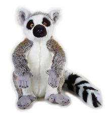 LELLY - National Geografic Zvieratká z dažďového pralesa 770757 Lemur - 30 cm