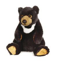 LELLY - National Geographic Zvieratká z Ázie 770774 Medveď bieloprsý - 26 cm