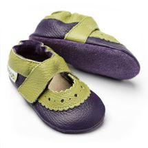LILIPUTI - Sandále Sahara purple- veľ. S (6-12 mesiacov)