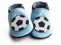 LILIPUTI - Topánky futbalová lopta - veľkosť M (12-18 mesiacov)