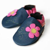 LILIPUTI - Topánky jarné kvetinky - veľ. S (6-12 mesiacov)