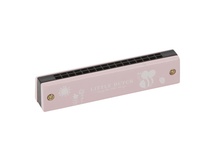 LITTLE DUTCH - Fúkacia harmonika pink